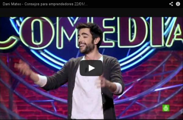 Dani Mateo - Consejos para emprendedores 22/01/2012